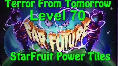 Terror From Tomorrow Level 70 StarFruit Power Tiles Plants vs Zombies 2 Endless GamePlay Walkthrough