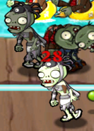 Two Spider Devil Zombies