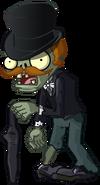 Gentleman Zombie PvZ2C HD