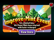 Improve-mint Event - Power Mints Return