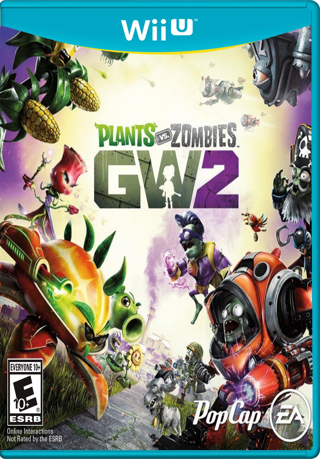 Plants Vs Zombies Garden Warfare 2 On Wii U.png Amazing Ideas