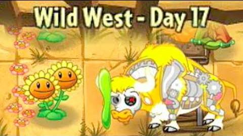 Wild West Day 17 - Plants vs Zombies 2