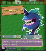 Carnivora Crepuscular Descripcion