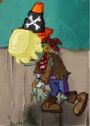 Pirate Conehead butter