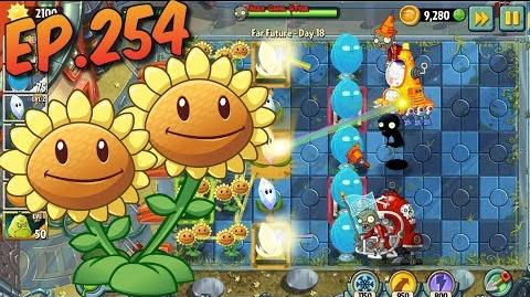 Plants vs. Zombies 2 Produce at least 6000 sun - Far Future Day 18 (Ep