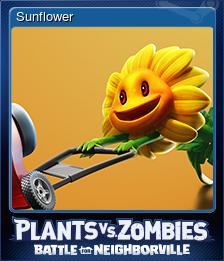 Steam BfN Sunflower Card