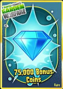 75,000BonusCoins