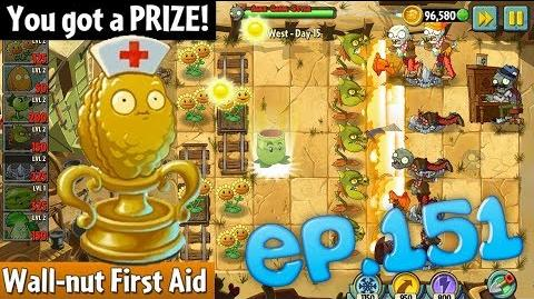 Plants vs. Zombies 2 Prize Wall-nut First Aid - Wild West Day 15 (Ep