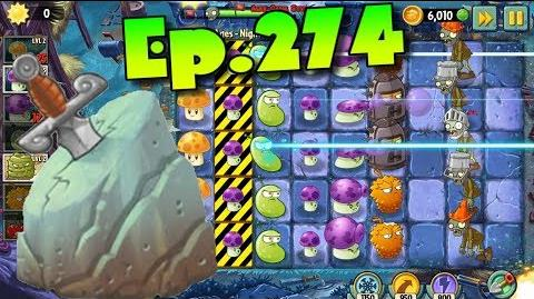 Plants vs. Zombies 2 Unlocked Arthur's Challenge - Dark Ages Night 12 (Ep