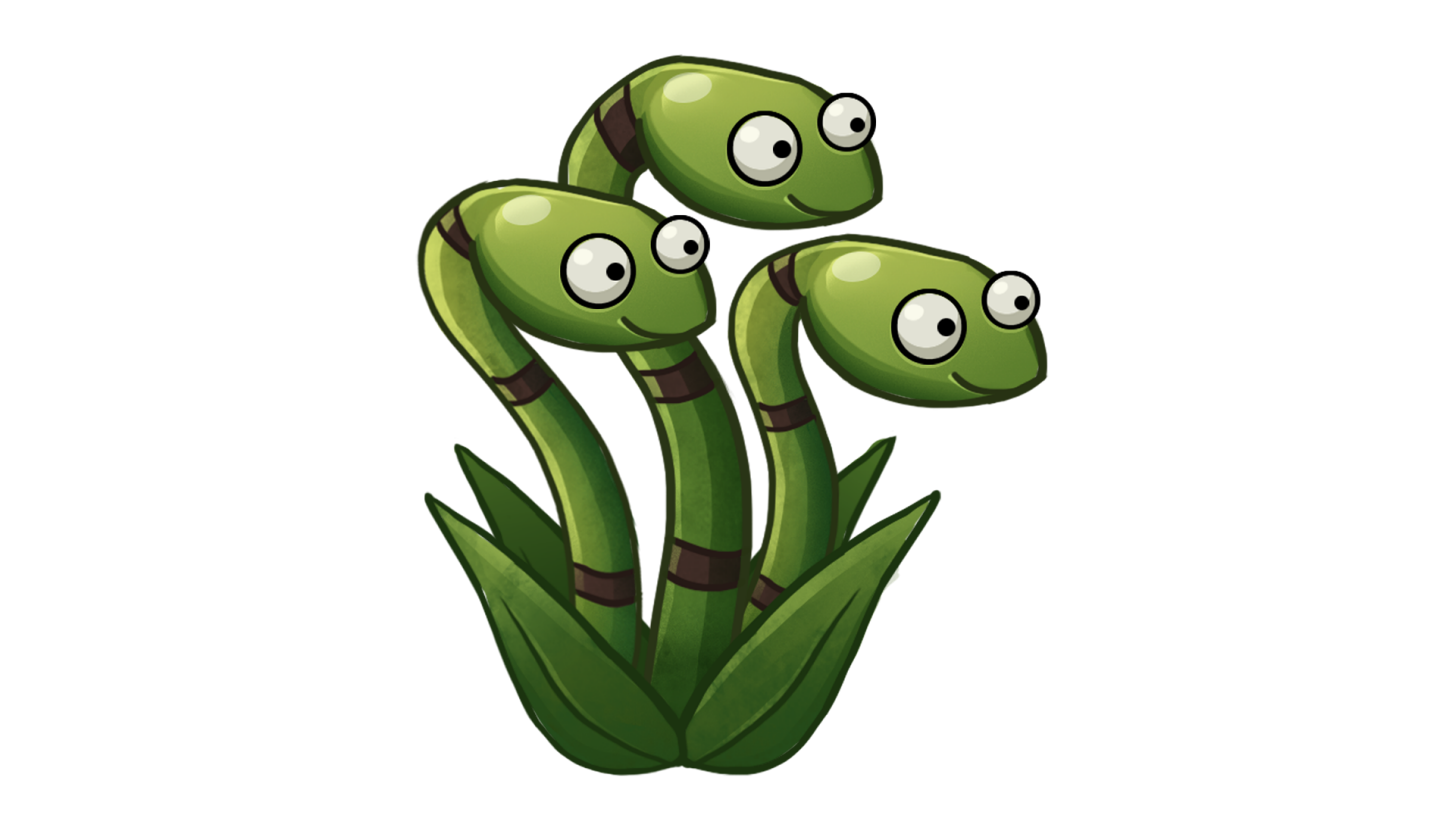 Snake Grass Plants Vs Zombies Wiki Fandom Powered By