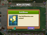 Getting Gold Bloom's Second Costume