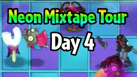Plants vs Zombies 2 - Neon Mixtape Tour Day 4 (Beta) Magnet-shroom vs Punk Zombie