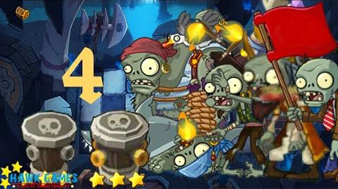 PvZ Online - Adventure Mode - Treasure Cave 4