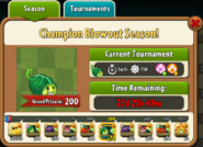 Champion Blow-Out Season Prize Map