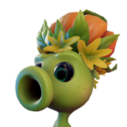 Icon PeaShooter HeadProp Pumpkin Large
