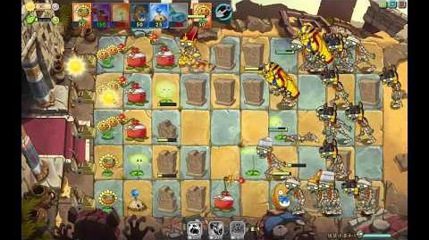 Plants vs. Zombies Online - Ancient Egypt - Level 4-1 (Final version)