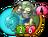 Turquoise Skull ZombieH