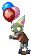 Zombie tutorial flag birthday