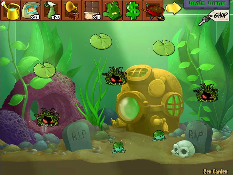 Aquarium garden plants vs zombies wiki fandom powered for Jardin zen plantas vs zombies