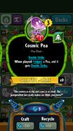 CosmicPeaStats
