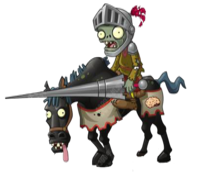 HD Horseman Knight Zombie