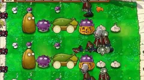 Plants vs. Zombies/No-Sunflower strategies
