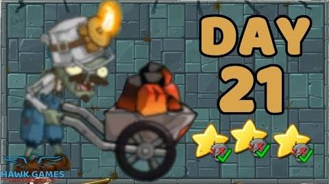 Plants vs Zombies 2 China - Steam Ages Day 21