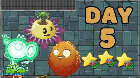 Plants vs Zombies 2 China - Steam Ages Day 5