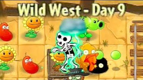 Wild West Day 9 - Plants vs Zombies
