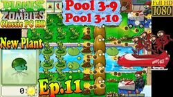 Plants vs. Zombies - New Sea-Shroom - Pool 3-9 - Pool 3-10 - Classic PC HD (Ep