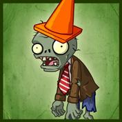 PvZ2 Conehead Zombie