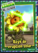 Rayo erupsion solar g1