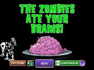 Skeletal Gargantuar and Imp Ate Brains