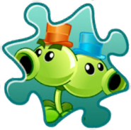 Split Pea Costume Puzzle Piece
