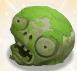 Zombie head monument