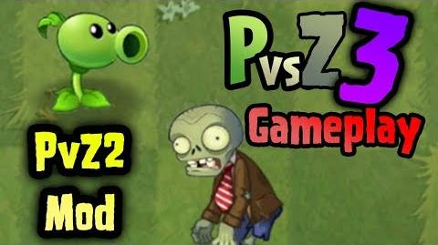 (PvZ2 Mod) Plants vs. Zombies 3 Gameplay New PVZ3 Zombie and PvZ3 Peashooter