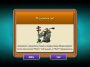 Arena Disconnected (7.5.1 Update)