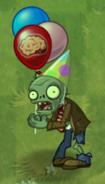 Fainted Birthdayz Flag Zombie