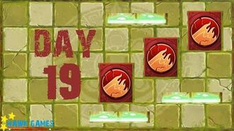 Pre-1.8 Plants vs. Zombies 2 China - Lost City - Day 19 Trap Tiles