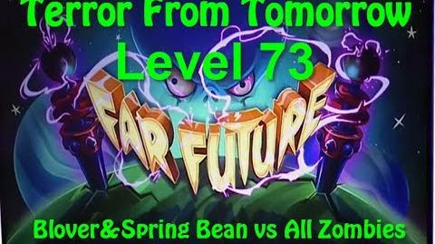 Terror From Tomorrow Level 73 Blover&Spring Bean vs All Zombies Plants vs Zombies 2 Endless GamePlay