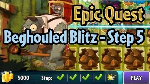 Plants vs Zombies 2 - Epic Quest Beghouled Blitz - Step 5 and new Epic Quest Preview