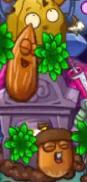 Gonuts and wallnut attack gravestone