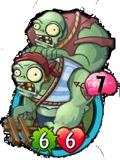 Gargantuar-Throwing Gargantuar | Plants vs  Zombies Wiki