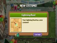 Getting Lightning Reed Birthday Costume