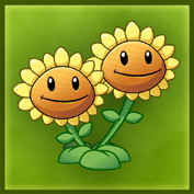 PvZ2 Twin Sunflower