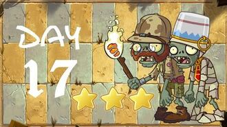 Android Plants vs. Zombies All Stars - Ancient Egypt Day 17