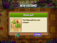 Melon-pult New Costume