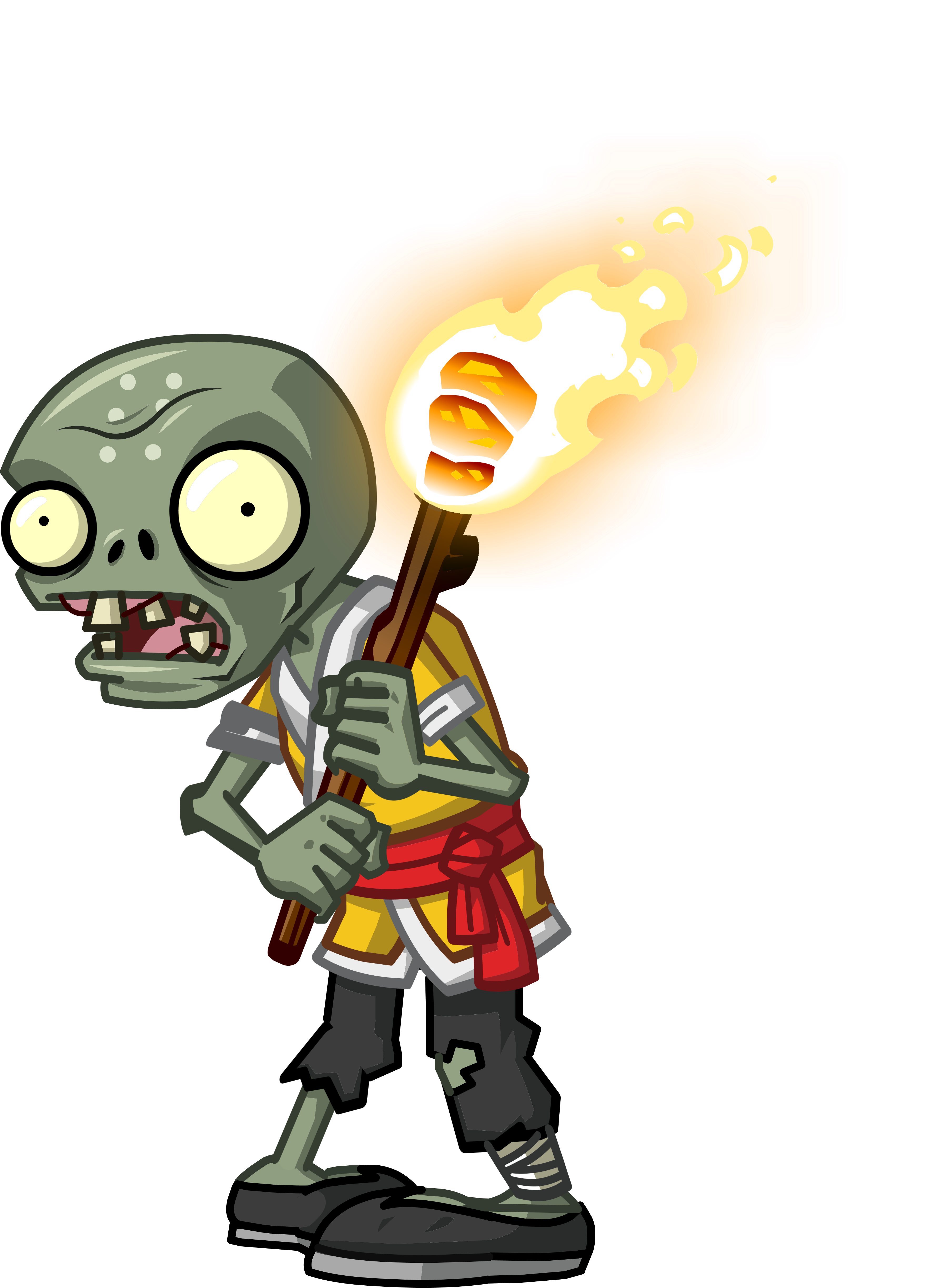 Torch monk zombie