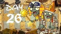 Android Beta 2 PvZ All Stars - Ancient Egypt Day 26