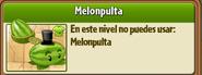 No se puede usar Melonpulta
